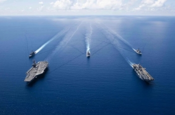 Mỹ tính lập liên minh kiềm chế tham vọng của Trung Quốc ở Biển Đông