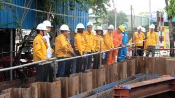 Tổng Giám đốc PV GAS kiểm tra thực địa tại công trường và rà soát tiến độ thi công giai đoạn 2 - Dự án Nam Côn Sơn 2