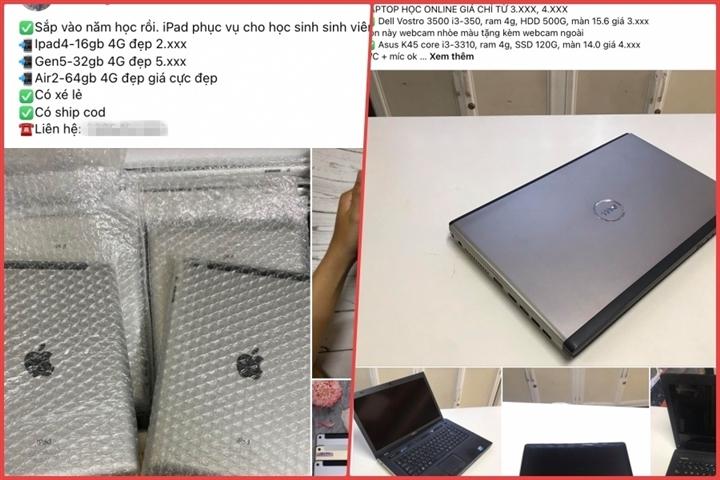 Phụ huynh nháo nhào mua cho con học online, thị trường máy tính lên cơn sốt - 2