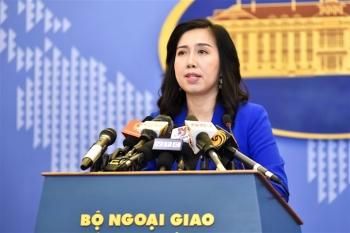 Việt Nam lên tiếng về luật an toàn giao thông hàng hải Trung Quốc