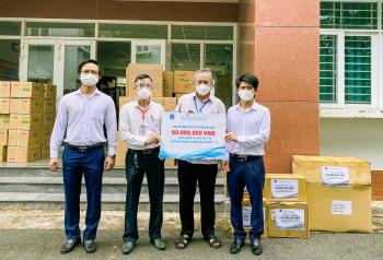 Các đơn vị PV GAS tích cực hỗ trợ người dân phòng chống dịch