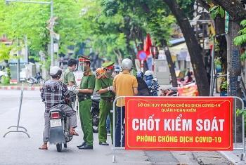 Những khu vực nào ở Hà Nội không kiểm soát giấy đi đường?