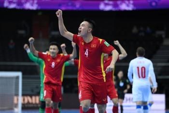 Lập kỳ tích World Cup, tuyển futsal Việt Nam chúc quê nhà sớm vượt qua đại dịch
