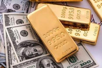 Giá vàng hôm nay 20/9: Thấp nhất 4 tuần, USD tăng nhẹ
