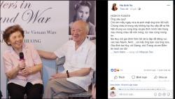 Siêu mẫu Hà Anh viết tâm thư cảm động gửi ông nội- nhà văn Vũ Tú Nam