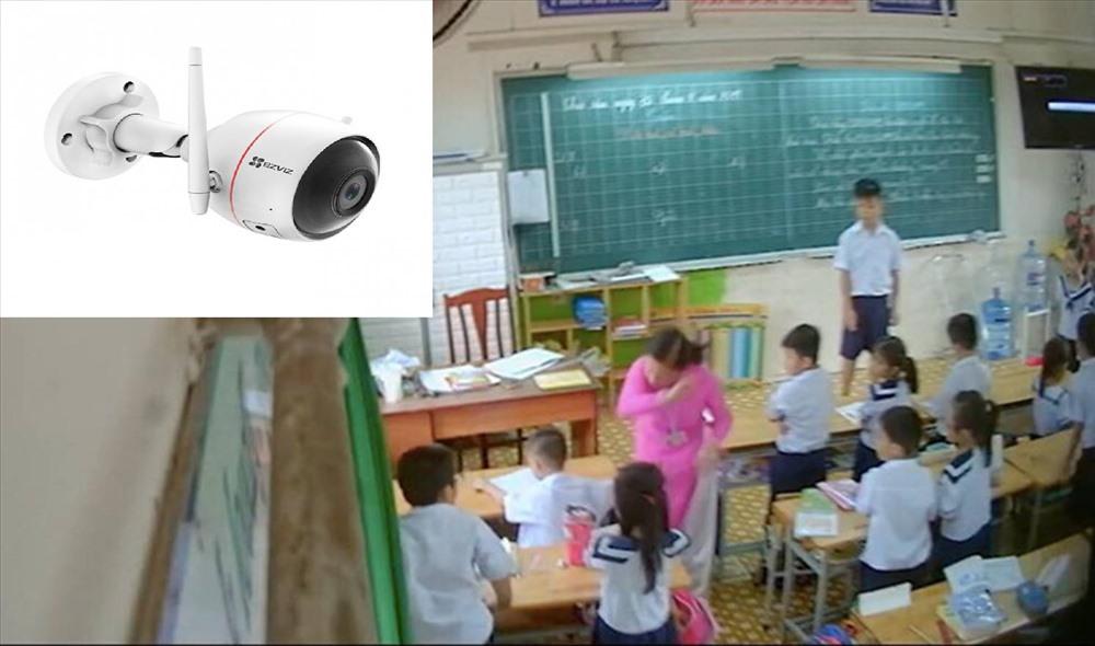 lap camera trong lop hoc khong phai giai phap giup triet tieu bao luc