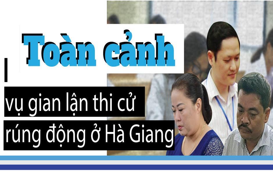 infographic toan canh vu gian lan diem thi gay rung dong o ha giang