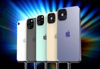 apple sap trinh lang toi 5 mau iphone 12