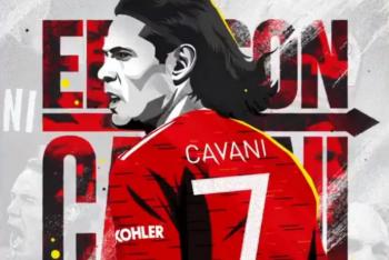 Vì sao Cavani chưa xuất hiện ở M.U?