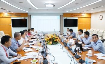 Tổng giám đốc PVN Lê Mạnh Hùng làm việc với PV GAS: PV GAS đã sớm hoàn thành kế hoạch năm 2020 về sản xuất kinh doanh LPG và nộp Ngân sách Nhà nước