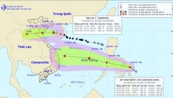 Bão số 7 giật cấp 11, đổ bộ Thái Bình đến Nghệ An