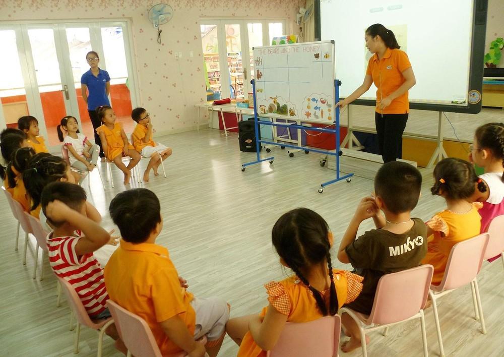 Trẻ mẫu giáo sẽ học tiếng Anh thế nào?
