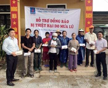 PV GAS: Ủng hộ 600 triệu đồng cho Thừa Thiên - Huế và Quảng Trị ngay trong cơn bão số 8