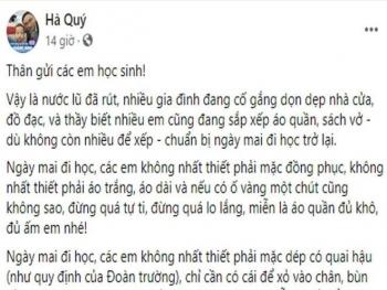 tam thu gui hoc tro vung lu tha y tin tuoi sa ng se so m de n vo i chu ng ta