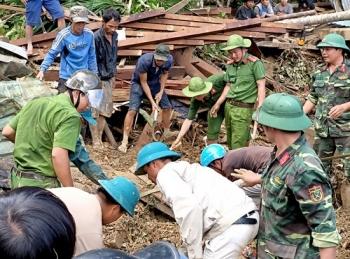 Vụ sạt lở ở xã Trà Leng: