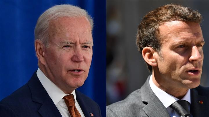 Ông Macron sẽ giáp mặt Biden sau căng thẳng tàu ngầm