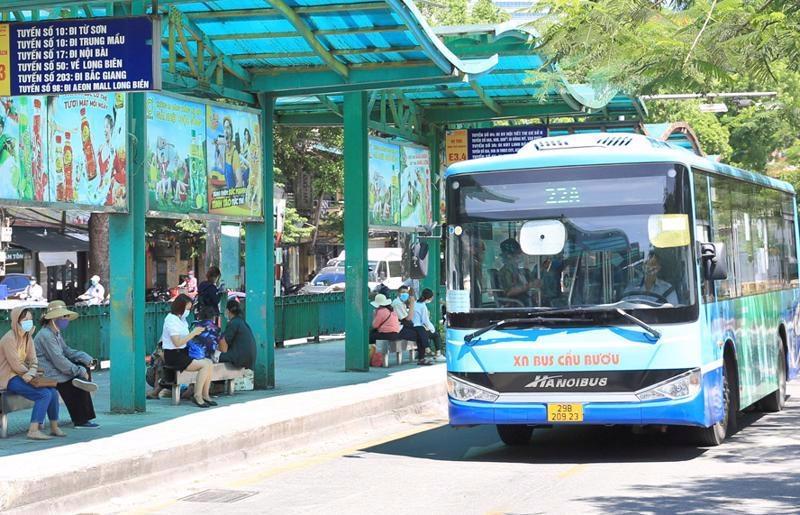 Xe buýt Hà Nội sẽ được hoạt động trở lại từ tuần sau
