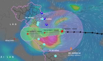 Sáng mai, bão số 8 đổ bộ Thanh Hóa - Quảng Bình, vùng núi phía Bắc dưới 18 độ C