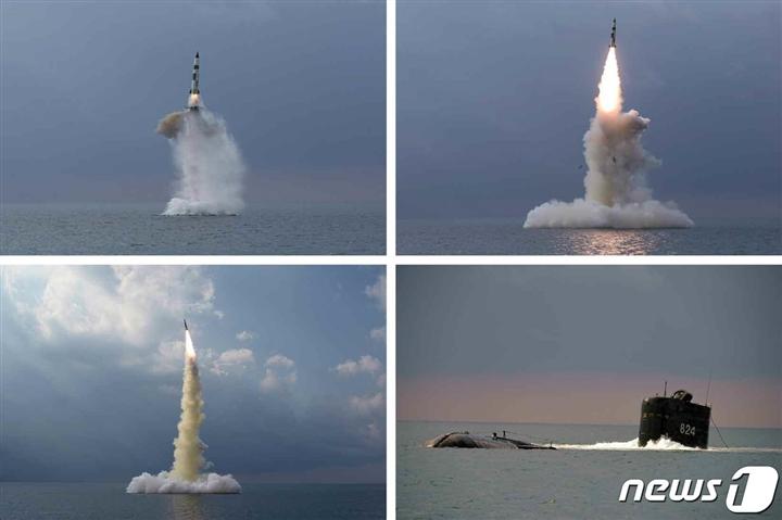 Triều Tiên tuyên bố phóng thử thành công tên lửa đạn đạo mới từ tàu ngầm