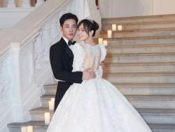 Loạt ảnh cưới hiếm hoi đẹp như cổ tích của cặp đôi Đường Yên - La Tấn