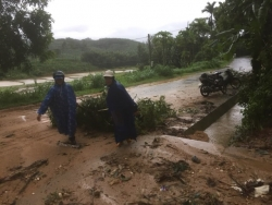 Hoàn lưu bão số 5: 15 người mất tích và bị thương, 4.300 nhà hư hỏng