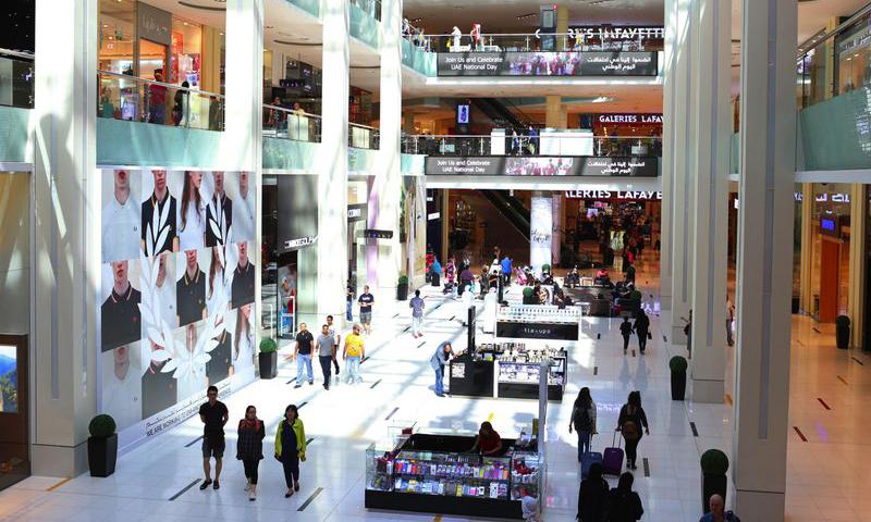 Dubai nguy cơ khủng hoảng thừa trung tâm thương mại