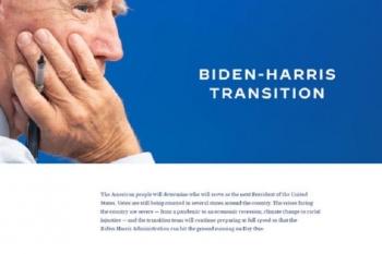Chưa đắc cử, ông Biden đã công bố website chuyển giao quyền lực