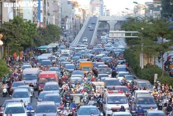 Thanh tra Sở GTVT Hà Nội: Đường Trường Chinh tắc là do đẹp, lượng xe đông