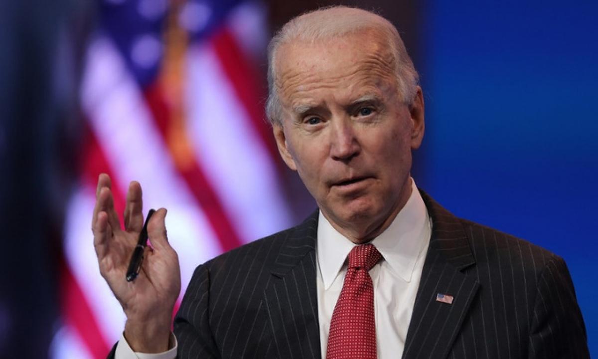 Ông Biden trong cuộc họp báo tại Delaware hôm 19/11. Ảnh: AFP.