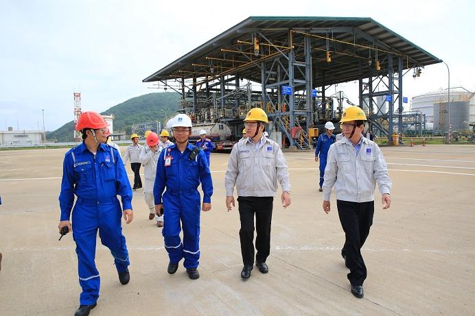 Lãnh đạo Petrolimex thăm và làm việc tại BSR