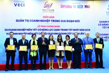 pv gas duoc vinh danh trong top 50 doanh nghiep niem yet co nang luc canh tranh tot nhat nam 2019