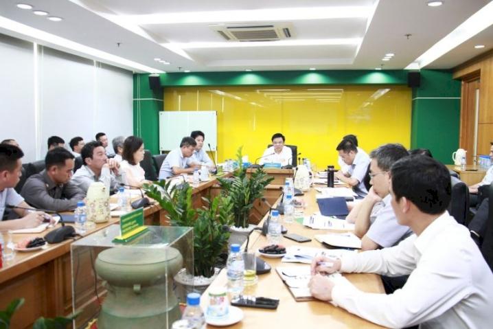 Tổng giám đốc PVN Lê Mạnh Hùng làm việc với  PVFCCo