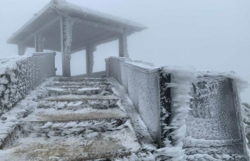Không khí lạnh mạnh tràn về, Bắc Bộ có nơi dưới 0 độ C, Nam Bộ chuyển lạnh