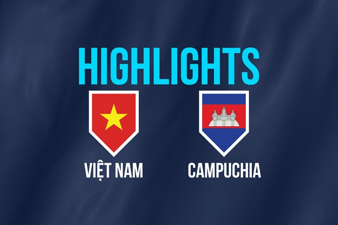 Highlights AFF Cup: Việt Nam 3-0 Campuchia