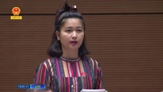 Nữ đại biểu H'Bơ Khăp: 'Bộ trưởng tiếp tục ủng hộ làm thủy điện nhỏ đúng không?'