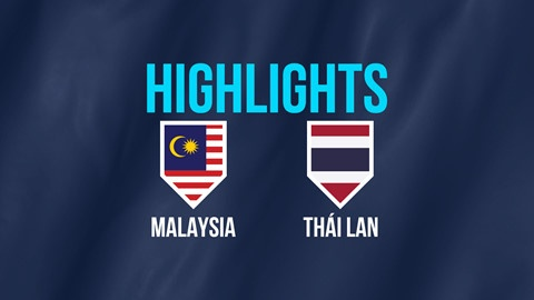 Highlights AFF Cup: Malaysia 0-0 Thái Lan