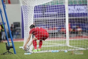 Tiến Linh đánh đầu ghi bàn, U22 Việt Nam lấy lại lợi thế