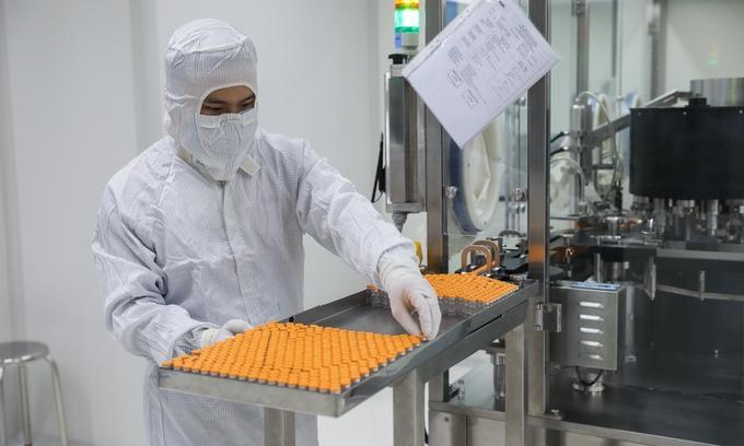 Bên trong nơi sản xuất vaccine Covid-19 Việt Nam
