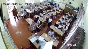 Cô giáo đánh, quát tháo học sinh trong giờ kiểm tra